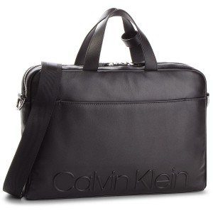 Laptoptasche CALVIN KLEIN - Statement Zip Slm Laptop Bag K50K503891 001 5e7457acc5