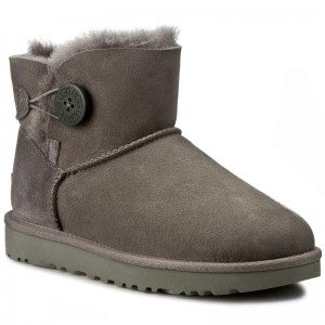 UGG Damen Boots Mini Bailey Button II 1016422-SLPN 39 Nu3rq3vP