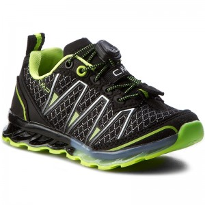 fb9a2b26add Trekkingschuhe CMP - Kids Altas Trail Shoes 3Q95264K Nero/Yellow Fluo 38AE