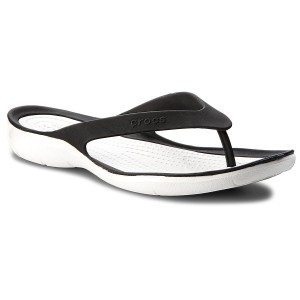 Zehentrenner CROCS - Swiftwater Flip W 204974 Smoke/White
