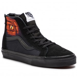 Sneakers VANS Sk8 Hi Zip VN0A3276URS1 (Dragon Flame) Black