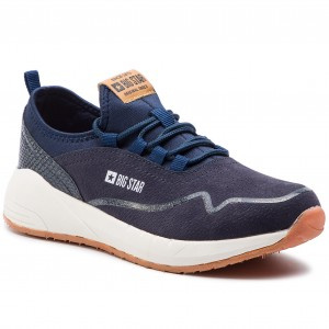 Sneakers BIG STAR EE274715 Navy Sneakers Halbschuhe