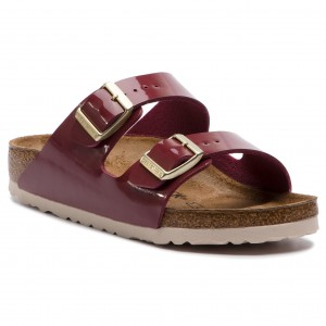 Pantoletten BIRKENSTOCK Arizona Bs 1014902 Washed Metallic