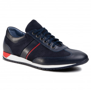 Sale Sneakers Geox Nckq B Old Style Sneakers Genuine Leather