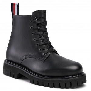 Trapperschuhe TOMMY HILFIGER Outdoor Hiking Detail Boot
