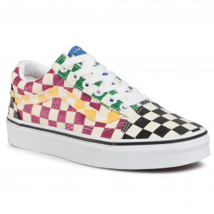Turnschuhe VANS Old Skool VN0A4U3B1HP1 (Glitter Check) Multitrwht