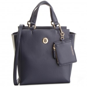 be09f3d2b59d8 Tasche TOMMY HILFIGER - Logo Story Tote Transparent AW0AW04948 901 ...
