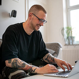 Sneakerhead und Blogger Christopher Blumenthal